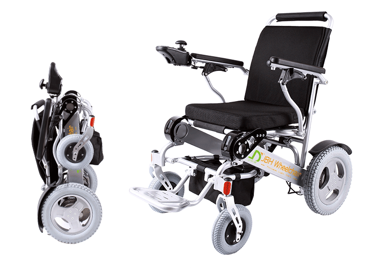 Manufacture Lightweight Folding Power Wheelchairs Jbh