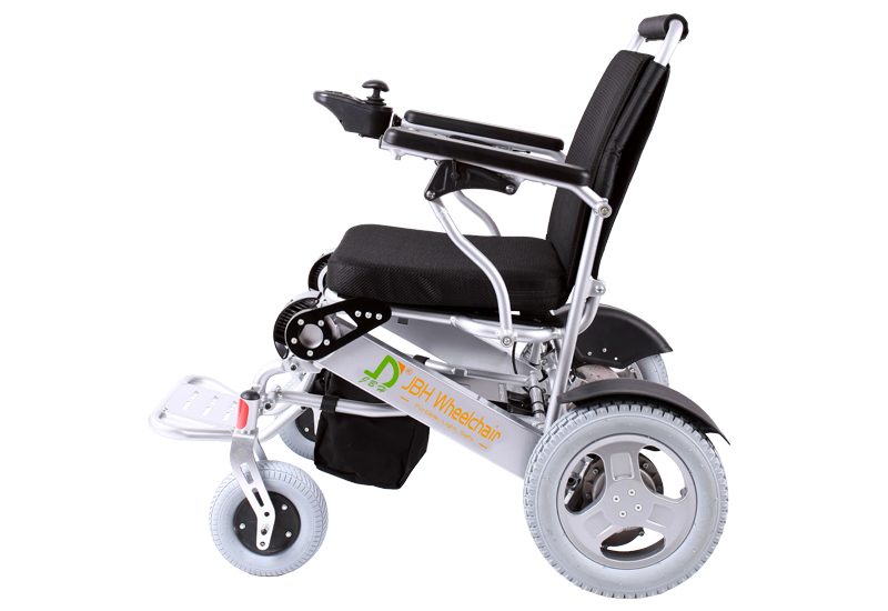 D 09 jbh reliable power electric wheelchair for Lightweight motorized folding wheelchair